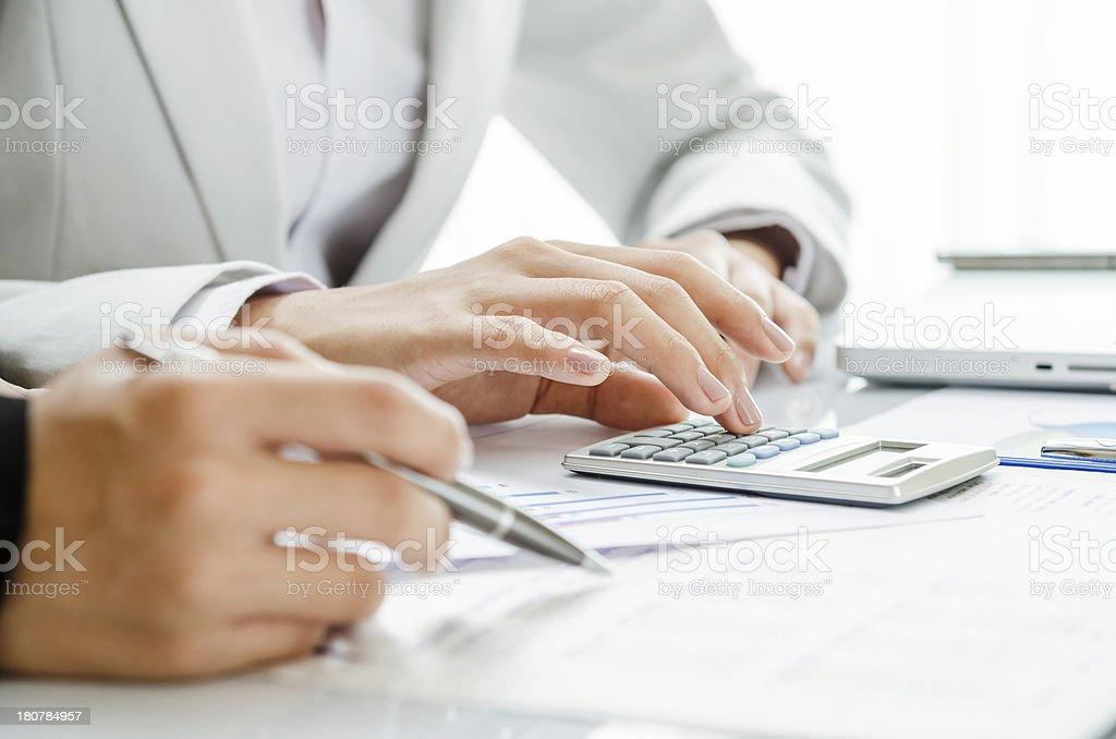 Überprüfung finanzielle Abbildung – Foto