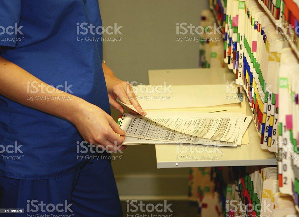 Prüfung Medical Chart – Foto