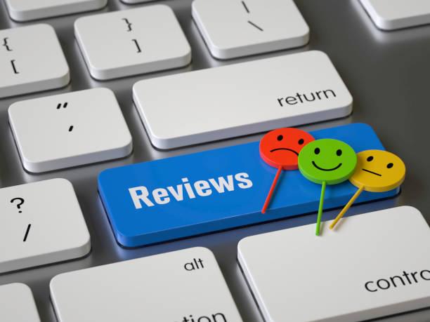 reviews - feedback icon imagens e fotografias de stock