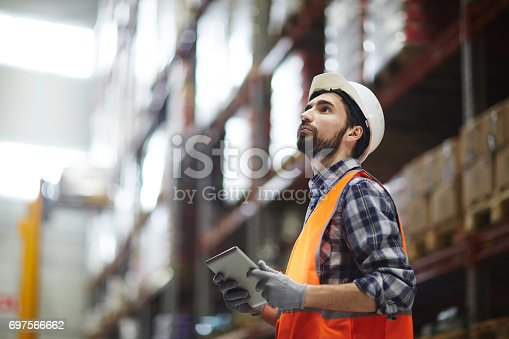 istock Revision of goods 697566662