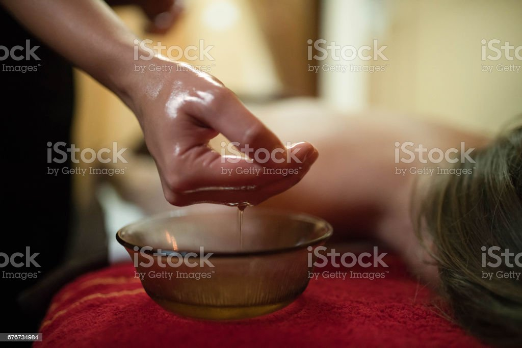 Revitalizing Oil stock photo