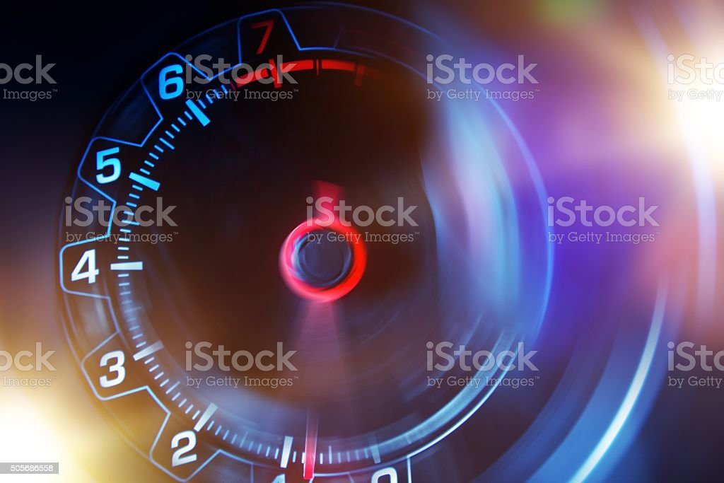Revolution Counter Concept stock photo