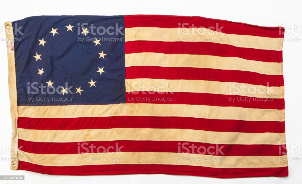 Revolutionary flag stock photo