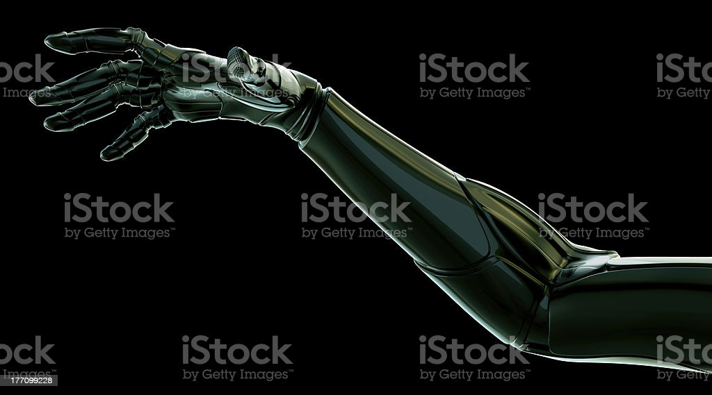 Revolutionary hand stock photo