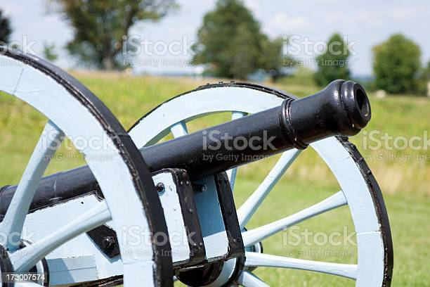 Revolutionary War Cannon Stock Photo - Download Image Now