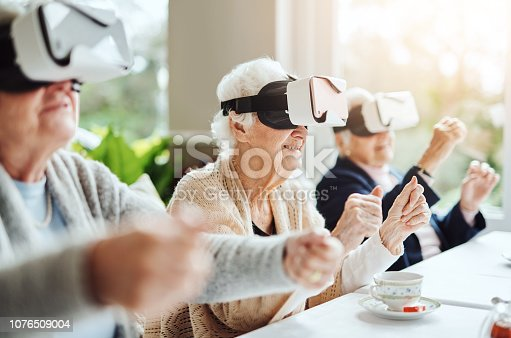 1053414472 istock photo Revolutionising what retirement means with virtual reality 1076509004