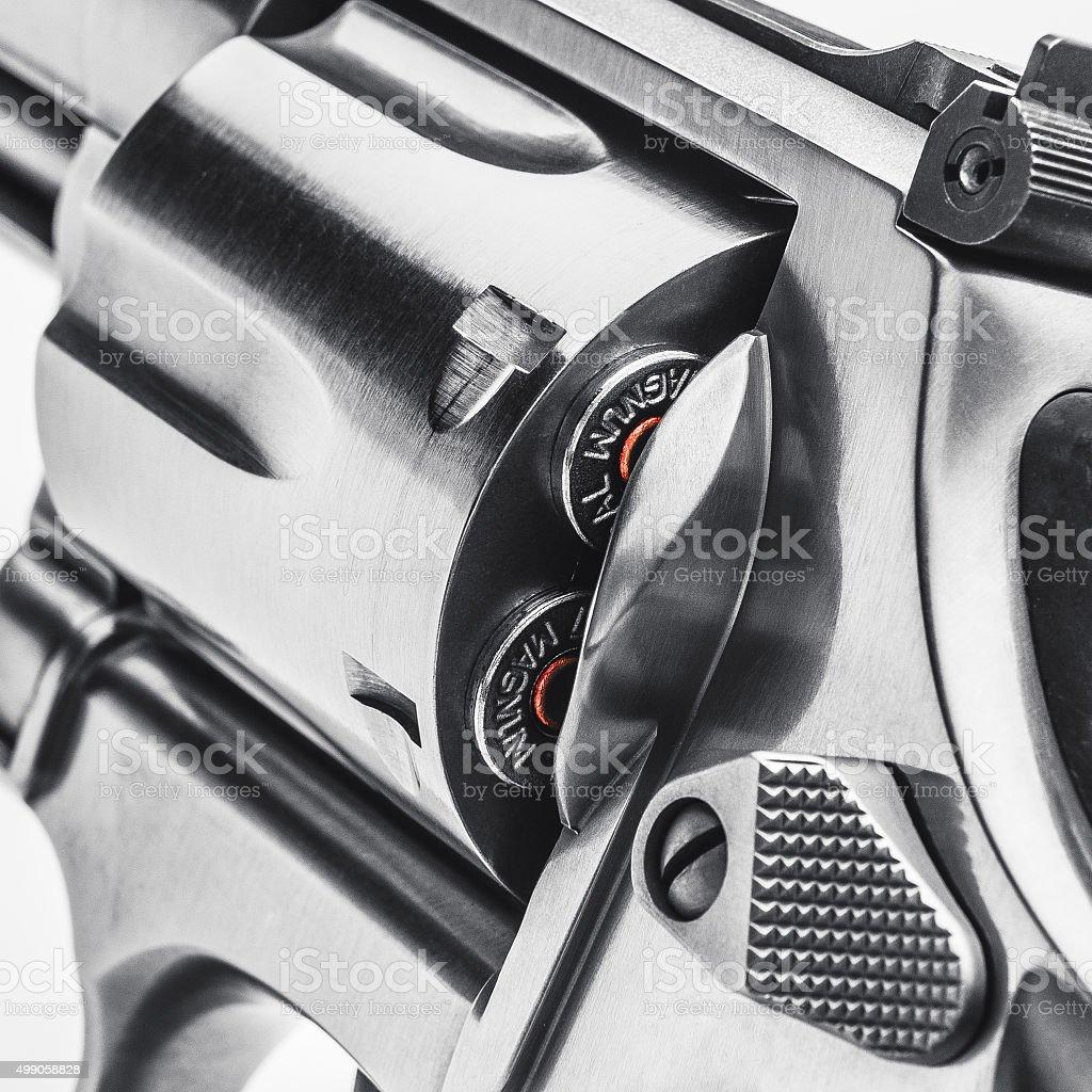 Revólver 357 arma de mano - foto de stock