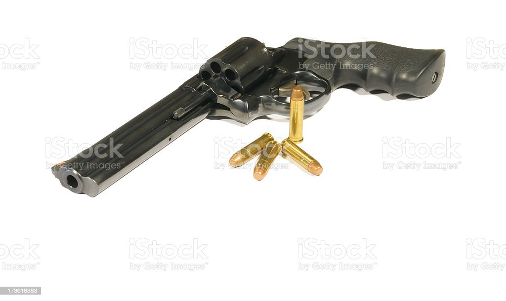 Revólver magnum 357 - foto de stock