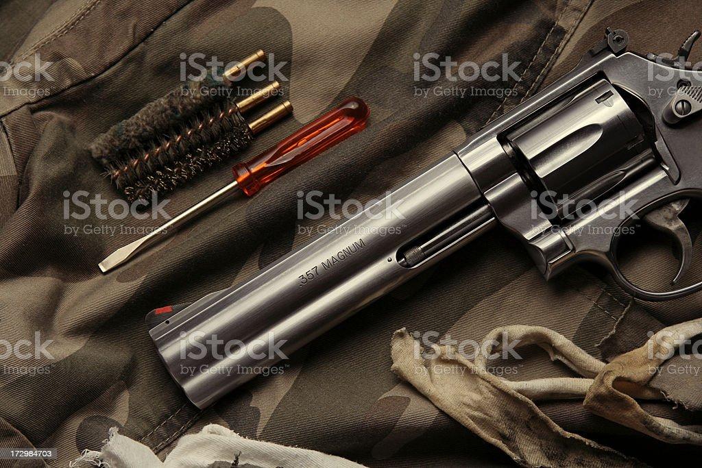 Revólver de mantenimiento - foto de stock