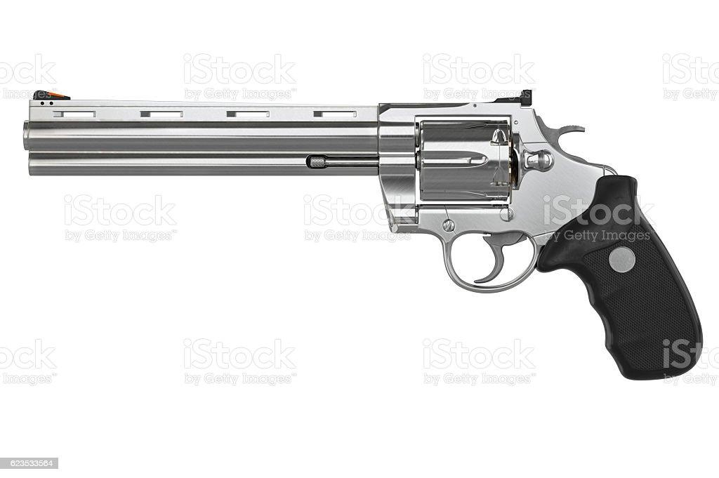Revolver, side view - foto de stock