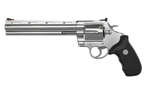 Revolver, side view - foto de stock