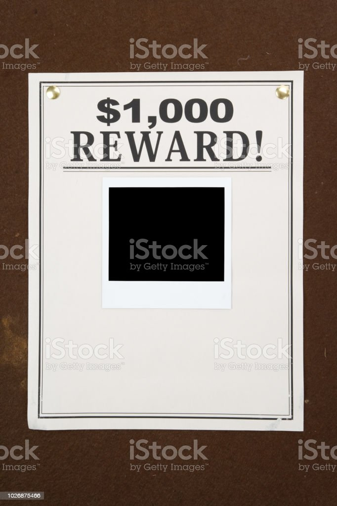 reward poster stock photo more pictures of billboard istock