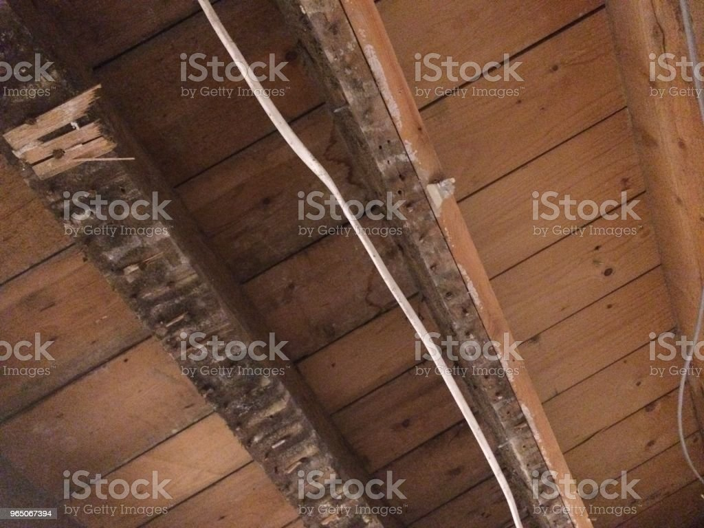 rewiring a house royalty-free stock photo