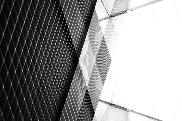 reworked photo of pitched roof / ceiling. industrial interior fragment. - dachschräge einrichten stock-fotos und bilder