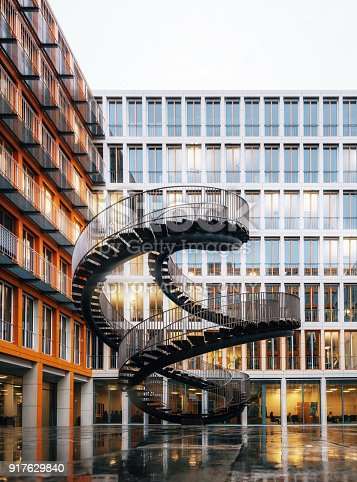 istock Rewriting Stairs in Munich, Germany 917629840