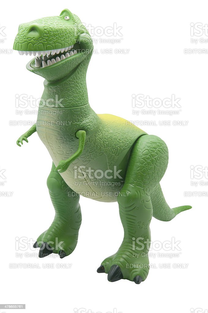 Rex Figurine stock photo