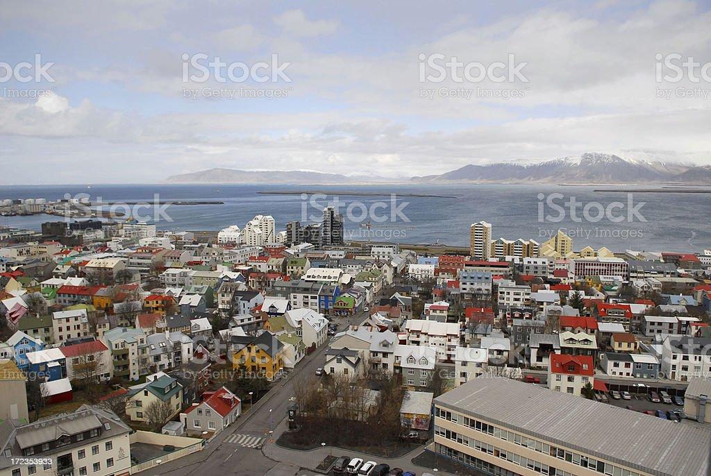 Reykjavik, Islandia foto de stock libre de derechos