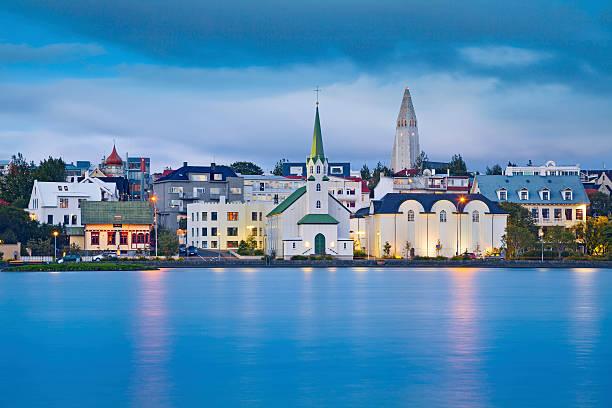 Reykjavik, Iceland. stock photo