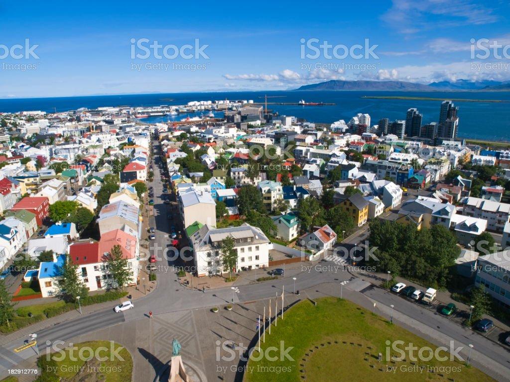 Reykjavik stock photo