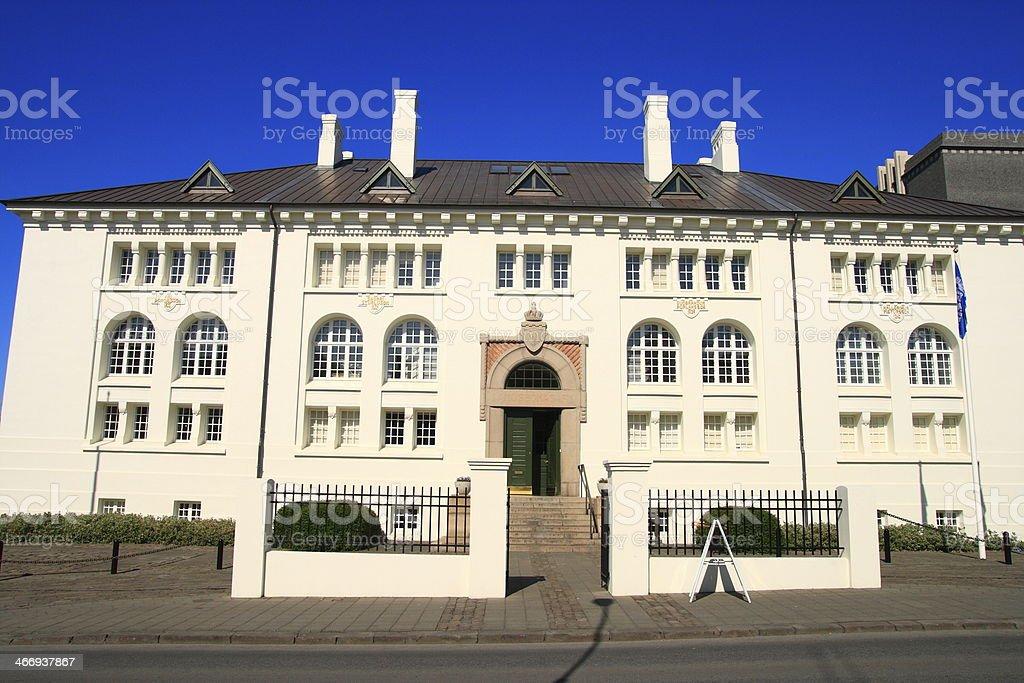 Reykjavik royalty-free stock photo