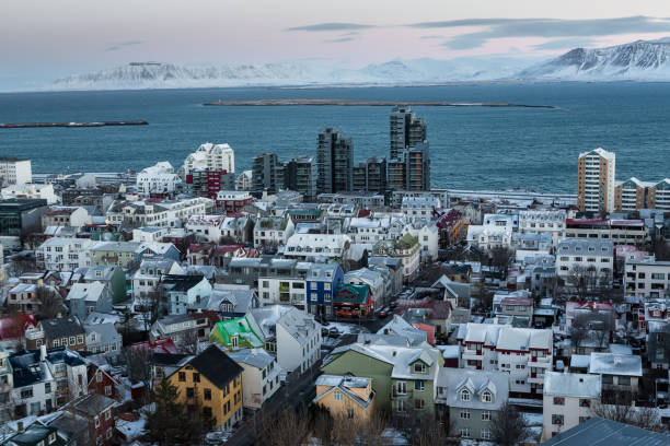 reykjavik - stephen lynn stock pictures, royalty-free photos & images