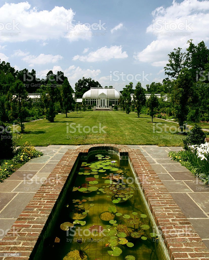 Reynolda Gardens royalty-free stock photo