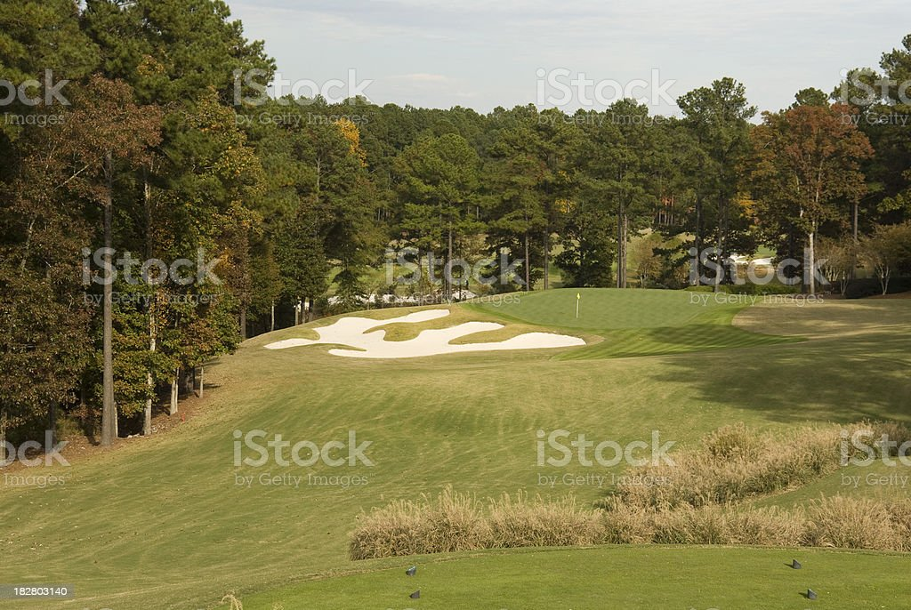 Reynolds Plantation Golf Course, Georgia stock photo