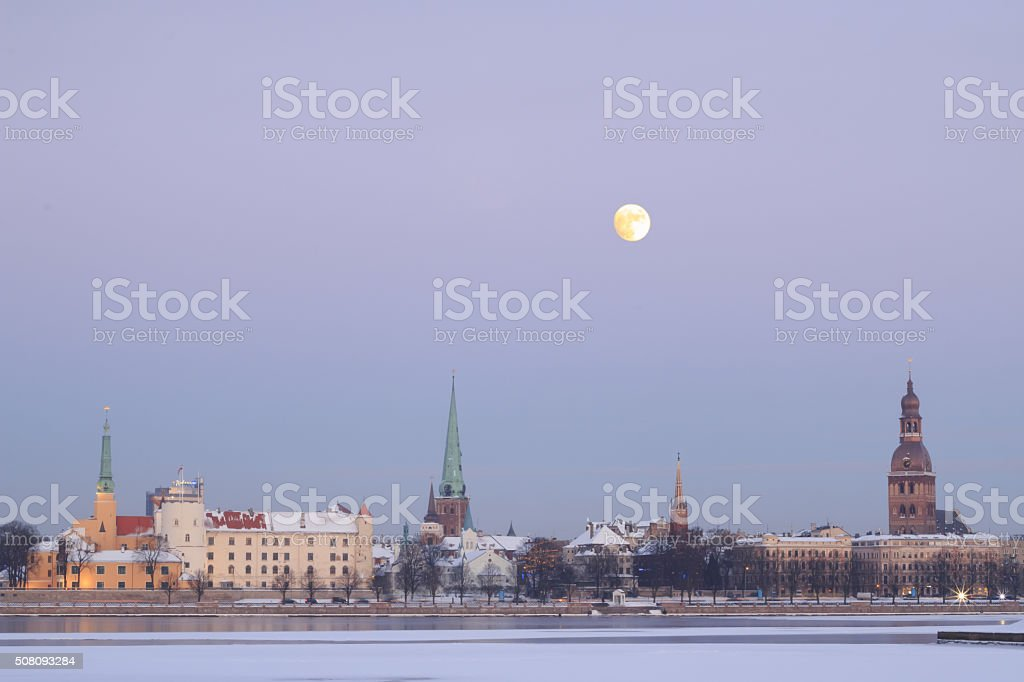 Rīga. stock photo