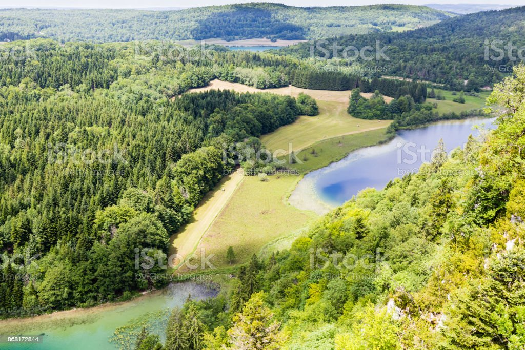 Region Des Quatre Lacs Dans Le Jura Francais Foton Och Fler Bilder Pa Berg Istock