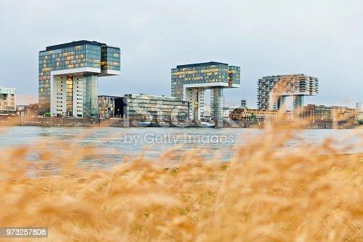 istock Rheinauhafen Crane Buildings, Cologne, Germany 973257808