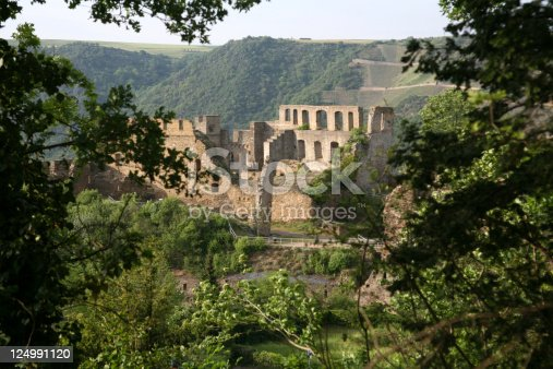 Rheinfels Castle on the Rhine (Germany)