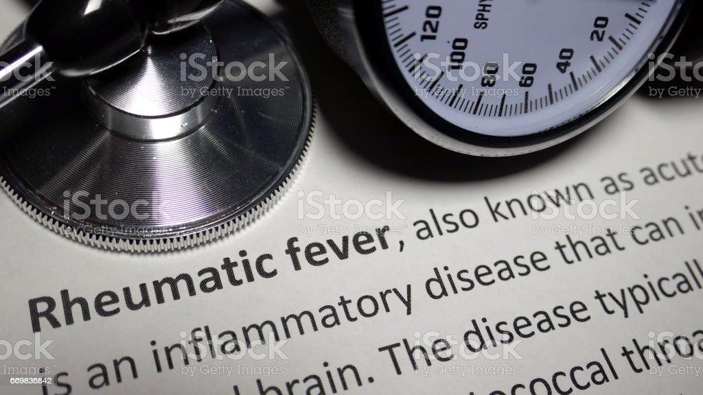 Rheumatic Fever stock photo