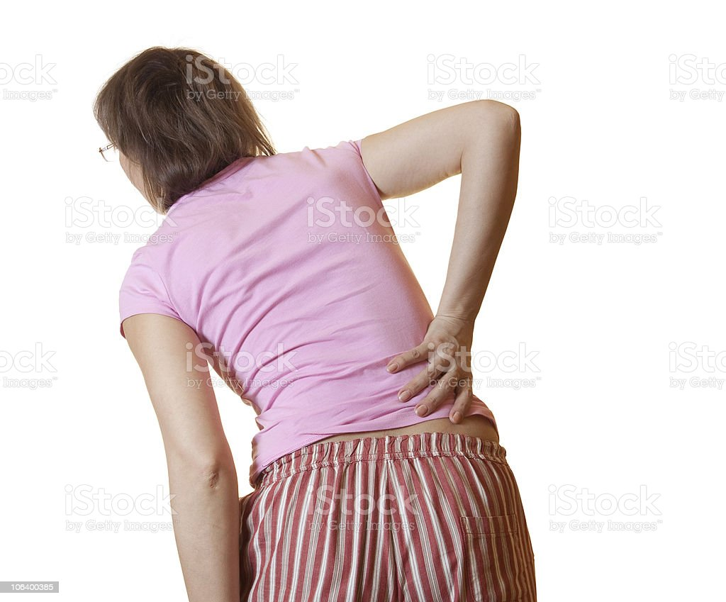 Rheumatism royalty-free stock photo