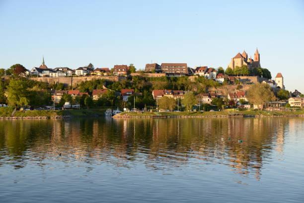 Rhein bei Breisach, Deutschland – Foto