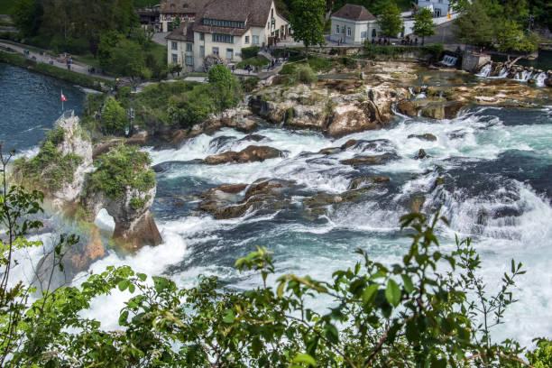 Rheinfälle von Schaffhausen, Schweiz – Foto
