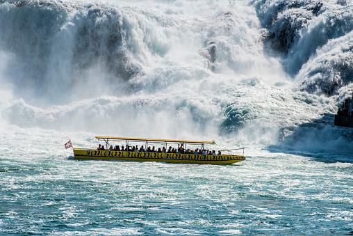 Rhine Falls (Schaffhausen Canton, Switzerland)