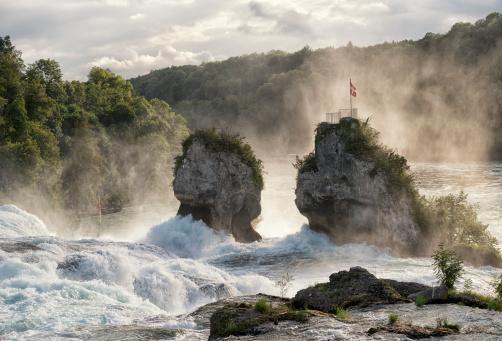 Rhine Falls, Schaffhausen, Switzerland