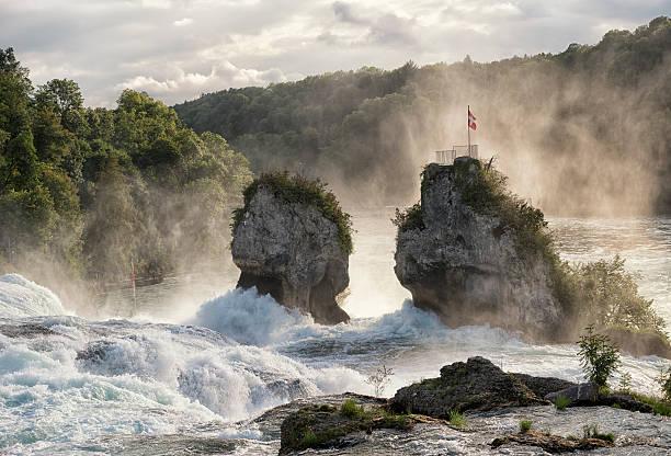 Rheinfall von Schaffhausen, der Schweiz, – Foto