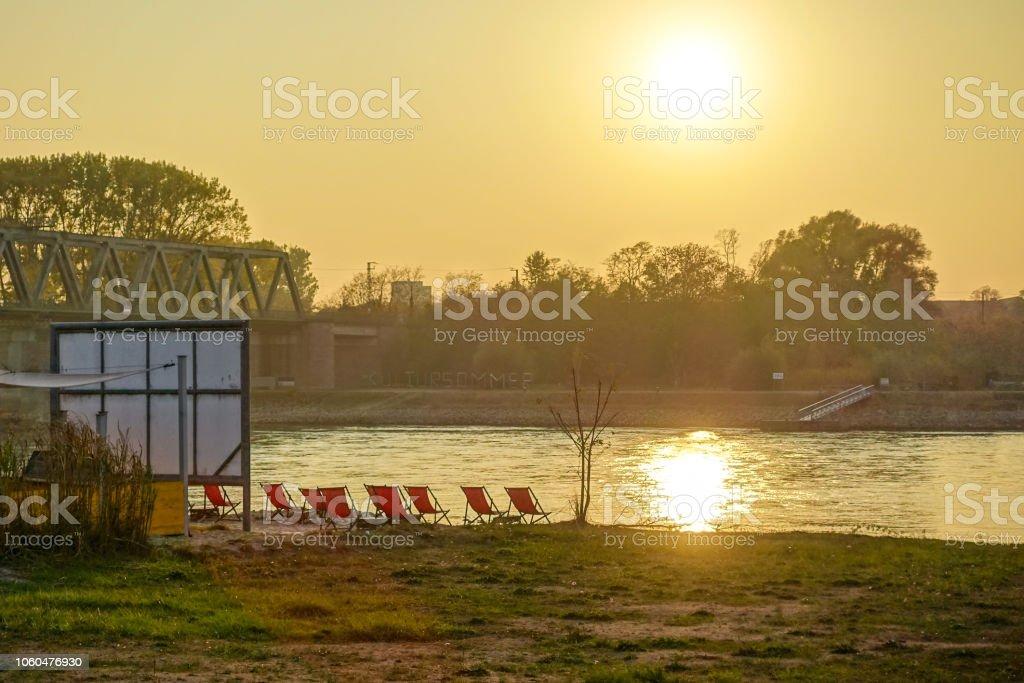Rhein Deutschland germersheim – Foto