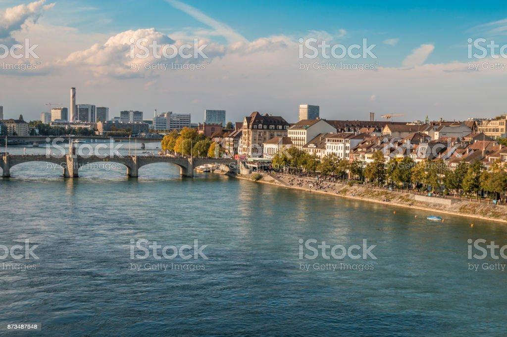 Der Rhein in Basel – Foto