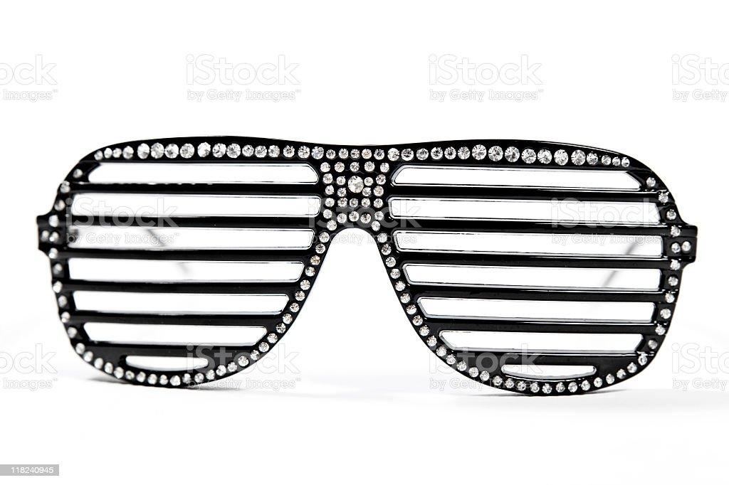 Rhinestone Sunglasses stock photo