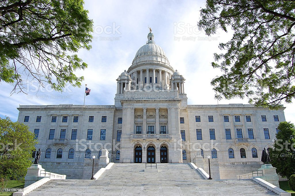 Rhode Island State Capitol stock photo