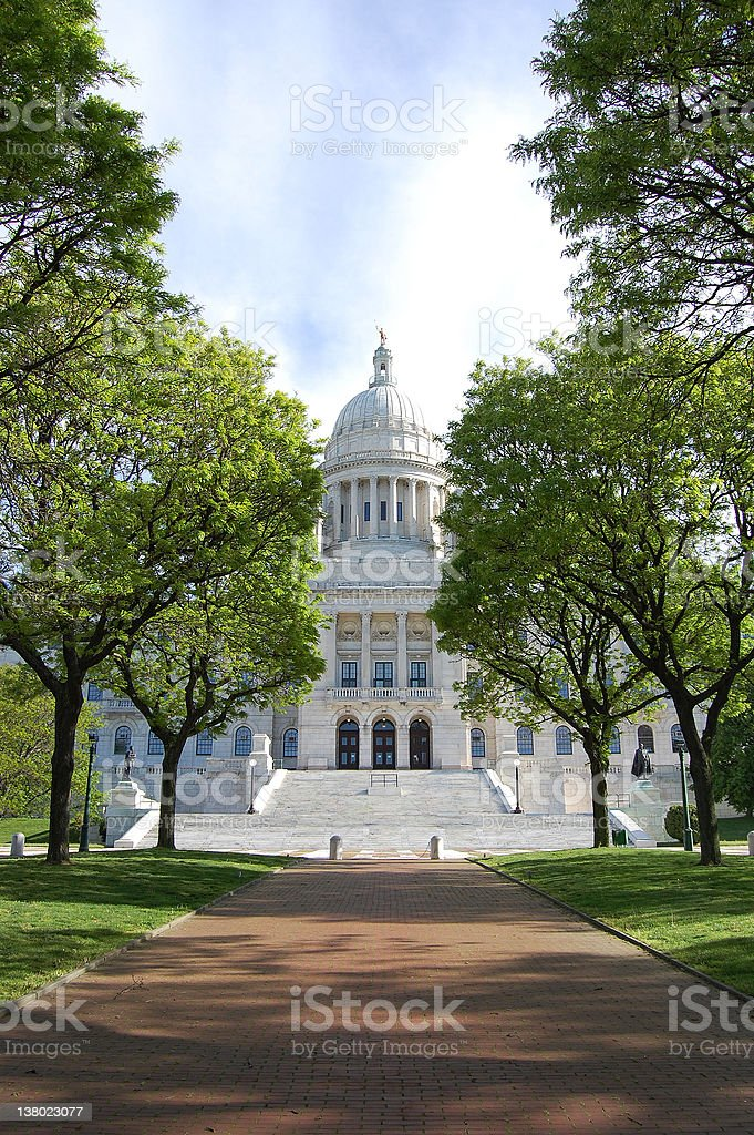 Rhode Island State Capitol royalty-free stock photo