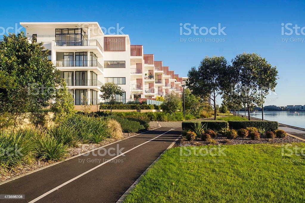 Rhodes Apartments stock photo