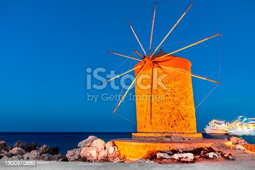 istock Rhodes, Greek Islands - Greece 1300970880
