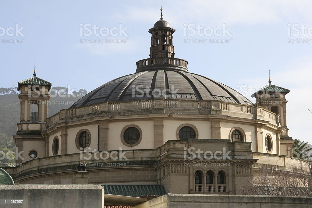 Rhodes House, Cape Town stock photo