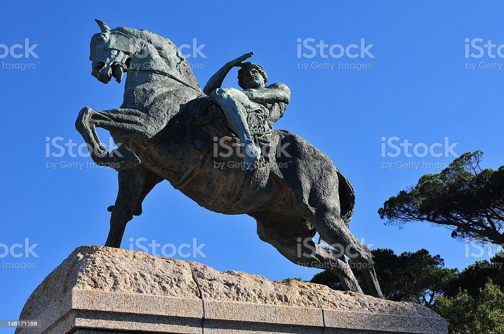 Rhodes Memorial stock photo