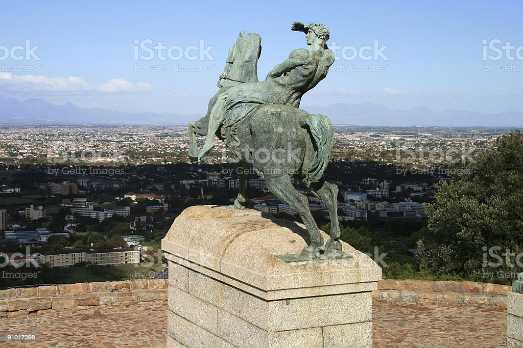 Rhodes Memorial stock photo