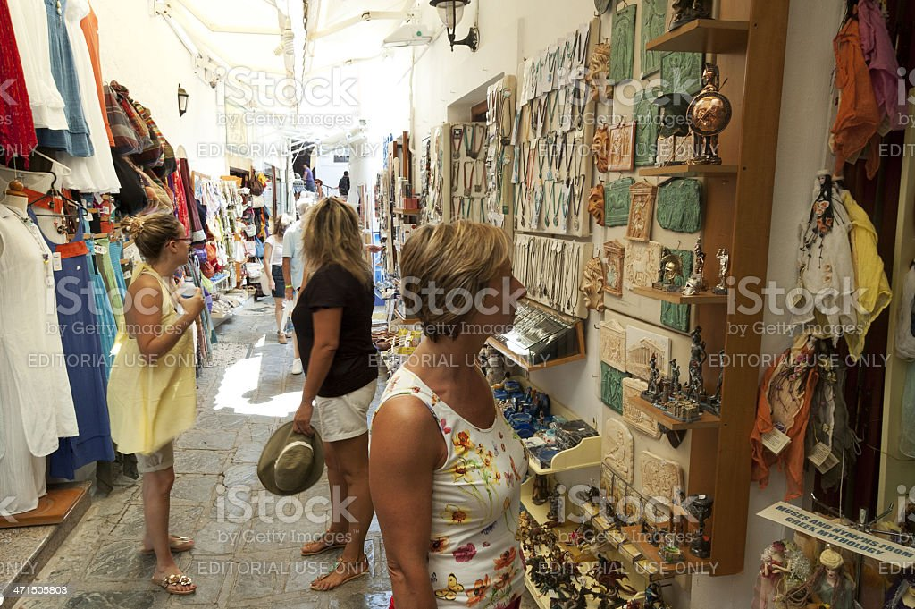 Rhodes Old Town - Greece royalty-free stock photo