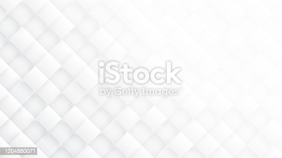 951228698 istock photo 3D Rhombus Blocks Conceptual Tech Minimalist White Abstract Background 1204880071